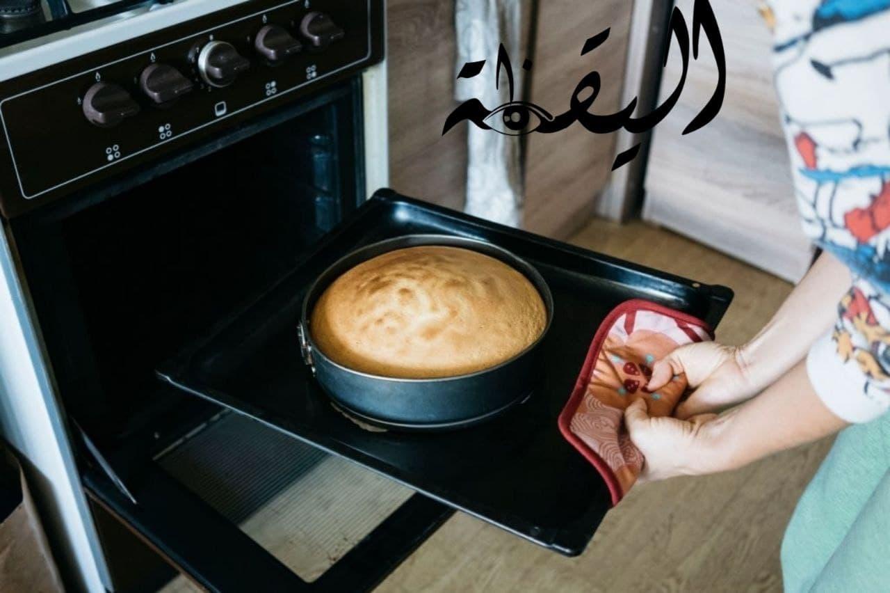 طريقة عمل كيكة الحليب الساخن كيك هش بالحليب أو بديل الكيك الاسفنجي