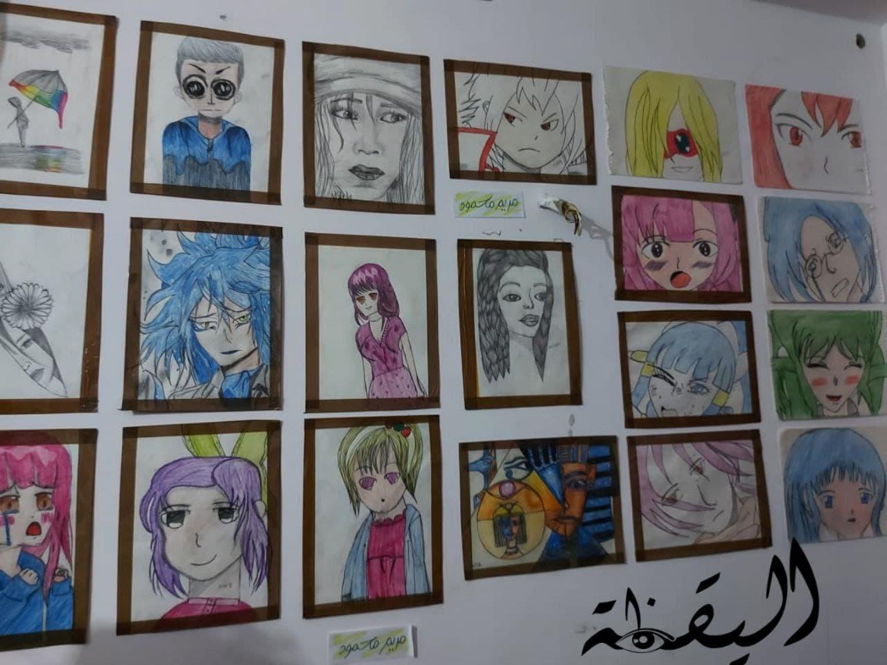 معرض لوحات فنية في مصر مركز تشالنج ينظم معرض لوحات فنية من تصميم الأطفال